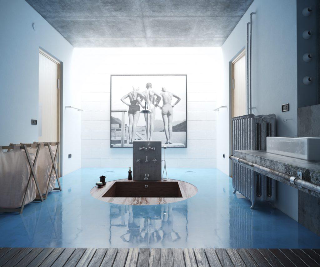 Badezimmer – Architektur Visualisierungen
